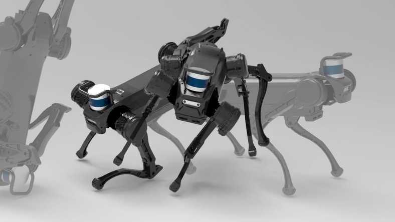 Düştüğünde Kendi Kendine Kalkıp Yürümeye Devam Eden Robot Köpek: Jueying