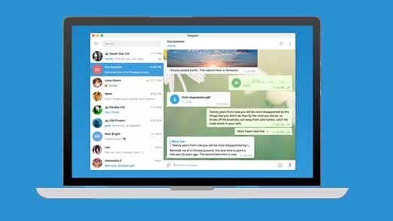 Telegram'ın Windows 10 Uygulaması Güncellendi: İşte 3 Özellik